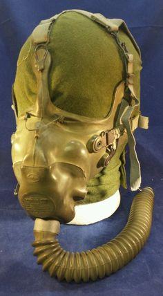 A 10 Oxygen Mask Juliet Head Strap U s Army Air Force WW2 | eBay