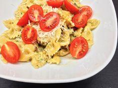 Těstoviny s citrónem a cuketou - My Cooking Diary Pasta Salad, Spaghetti, Cooking, Ethnic Recipes, Food, Lemon, Crab Pasta Salad, Kitchen, Essen