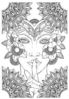 Coloring Books for Adults :: Night Guards