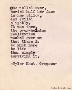 Tyler Knott Gregson...this guy is fantastic