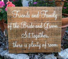 No seating plan sign (just wording) Rustic Wedding Signs, Wedding Signage, Wedding Seating, Wedding Wording, Ceremony Seating, Wedding Table, Perfect Wedding, Fall Wedding, Diy Wedding