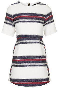 Nautical Stripe Shift Dress
