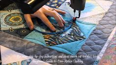 How to machine quilt a Square in a Square quilt block. By Natalia Bonner, author of Beginner& Guide to Free-Motion Quilting and co-author of Modern One-Bloc. Machine Quilting Tutorial, Machine Quilting Patterns, Quilting Templates, Quilting Tutorials, Quilting Ideas, Quilting Rulers, Longarm Quilting, Free Motion Embroidery, Free Motion Quilting