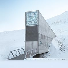 Northskull Inspiration | Deep inside a mountain on a remote island in the Svalbard archipelago, halfway between mainland Norway and the North Pole, lies the Global Seed Vault. It is a fail-safe seed storage facility, built to stand the test of time — and the challenge of natural or man-made disasters. The Seed Vault represents the world's largest collection of crop diversity and was designed by architect Peter W. Søderman. #NorthskullInspiration