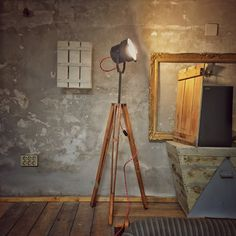 • I • H • O • N • Lamps - You can get these from Csendes - A Pesti Szatócs // Inner City Concept Store [ on.fb.me/1lGfRCM ] #asyouwishprojects #csendes #csendesconceptstore #handcrafted #reclaimed #vintage #interior #lamp #tripod © David Szoke & Gergo Biro, VLMI Produktív [ on.fb.me/1SQQddb ], Budapest, HU