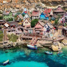 Popeye Village, Malta😊 @visitmalta #visitmalta
