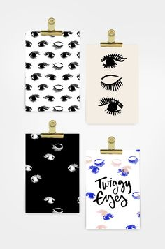 Downloadable: Twiggy Eyes