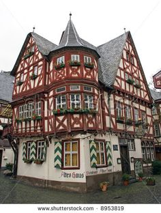 Traditional 14th Century German House In Bacharach