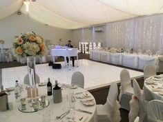 Wedding reception at The Beaverwood with lit dance floor and white baby grand piano. Wedding Reception, Wedding Venues, Baby Grand Pianos, Flooring, Weddings, Marriage Reception, Wedding Reception Venues, Wedding Places, Wedding Reception Ideas
