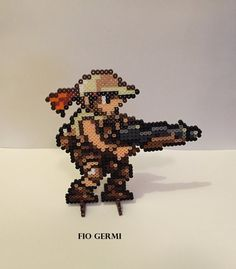 Metal Slug Perler Bead Sprites Inspired by by ThePixelizedPrincess