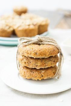 Whole Grain Pear Hazelnut Muffins (v) | mycaliforniaroots.com | # ...