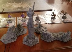 Warhammer Aos, Underworld, Colour Schemes, Dungeons And Dragons, Scenery, Workshop, Games, Inspiration, Tabletop