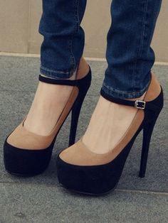 $39.99 Colors Lovely Platform High Heels