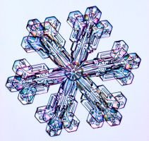 Snowflake Photographs by Kenneth G. Libbrecht - SnowCrystals.com