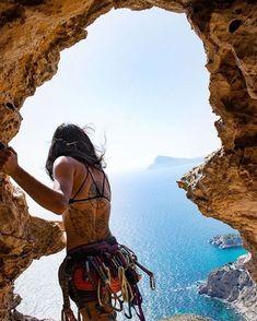 Climbing Girl, Rock Climbing Gear, Parkour, Trekking, Sport Motivation, Climbing Workout, Escalade, Bungee Jumping, Kayak