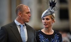 Mike and Zara Tindall.  Photo: © Getty Images