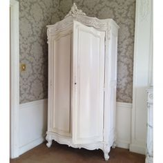 Provencal White Armoire by The French Bedroom Company