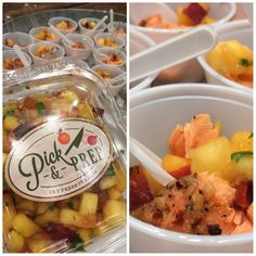 With peaches finally in season, we cannot get enough of the fresh Peach Salsa from Pick & Prep! Topping salmon with the salsa makes for a quick and healthy meal everyone will love!