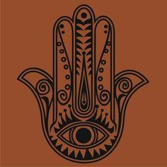 simple hamsa tattoo - Google Search