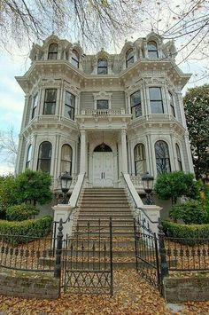 I love those attic windows