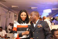 Julius Agwu and Stephanie Coker