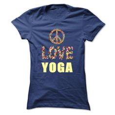 Limited Edition Peace. Love. Yoga.