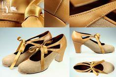 Zapatos flamencos artesanos para profesionales