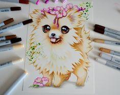 Pomeranian by Lighane's Artblog