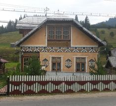 adelaparvu.com despre Ciocanesti, case cu motive traditionale, Bucovina, Romania (59) Home Fashion, Cabin, House Styles, Interior, Design, Home Decor, Decoration Home, Room Decor, Design Interiors