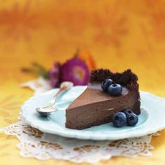 Cheesecake med kaffe & choklad