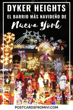 Dyker Heights Christmas lights tour in New York - Postcards From IvI Travel Blog, Usa Travel Guide, Travel Usa, Travel Tips, Travel Destinations, Christmas Destinations, Canada Travel, Christmas Travel, Holiday Travel