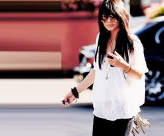 Vanessa Hudgens fringe purse aviators fabulousity