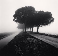 Michael Kenna, Canal and Path, Goro Ferrara, Veneto, Italy, 2007