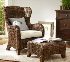 SEAGRASS WINGBACK ARMCHAIR $399 – $559