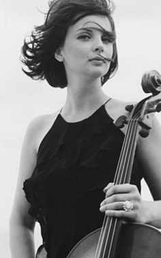 Nina Kotova... the second cellist I fell in love with, right after Jackie!