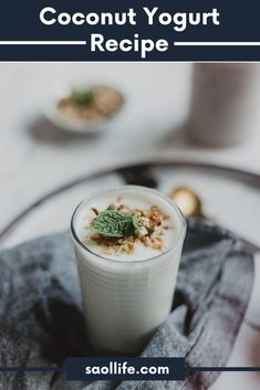 Are you looking for a dairy substitute to yogurt because your guts find it hard to digest? Well, then coconut yogurt might just be the answer you are looking for. Coconut Yogurt Recipe, Yogurt Recipes, Celery Recipes, Juice Recipes, Healthy Smoothie, Healthy Fats, Juice Smoothie, Healthy Skin, Quinoa Fruit Salad