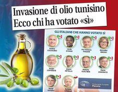 il popolo del blog,: N'TO CULU AL SUD   Con Renzi siamo fritti ! olio t...