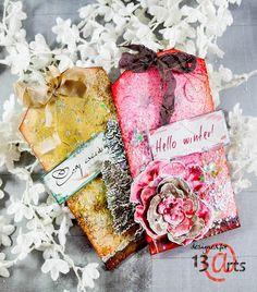 13arts: Winter tags by Natalya Loi