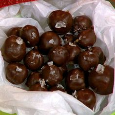 Holiday Butterscotch Truffles From Carla Hall / The Chew (my favorite daytime show!)
