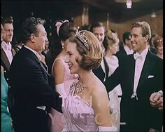 A profile image of Margaret wearing the Lotus tiara, 1962, with Tony Armstrong-Jones