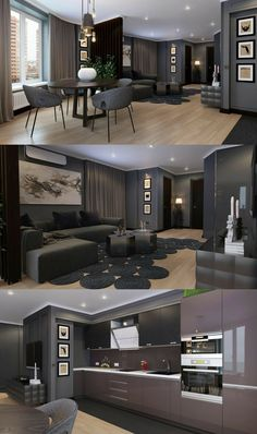 Small Home interior Ideas Living Rooms - Home interior Design Videos Ideas Farmhouse - Small Home interior Design Videos Apartments Design Apartment, Apartment Interior, Apartment Living, Interior Design Living Room, Living Room Designs, Japanese Apartment, Appartement Design, Design Case, Design Loft