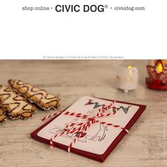 """O Clube da Tula en Instagram: """"Do you know our Civic #christmas #cards ??? Civic Dog & friends helps you to celebrate this magic time of the year... Design: O Clube da Tula & Marc Portell Illustrator. Photo: @whom.creativestudio. Shop online at civicdog.com. #christmastree #christmasparty #christmasgift #christmastime #christmaseve #christmasday #greyhound #greyhoundlove #newyear #newyear2016 #newyearnewme"""""""