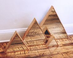 toildrops » triangle mirrors