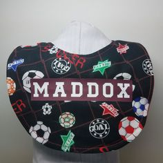 Custom, handmade personalized bibs