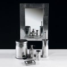 Bathroom accessories in zinc Bath & Co Seletti