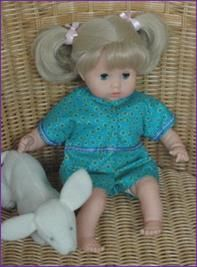 Free doll clothing patterns