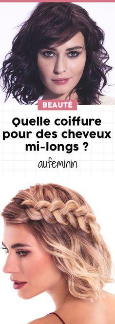 Les coiffures pour cheveux longs et mi-longs que vous allez adorer sont là ! De quoi trouver l'inspiration capillaire pour vous coiffer le matin ! /// #aufeminin #coiffure #coupe #cheveuxlongs #cheveux #coiffer #look #style