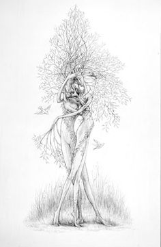 tree people by Virginia Lee