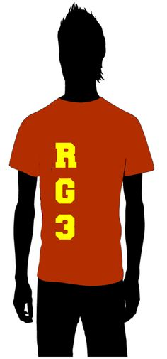 RG3  Robert Griffin III  The Washington Redskins    for information on how to order email thoseplayertees@gmail.com