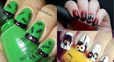 36 idées pour faire vos ongles à l'Halloween!